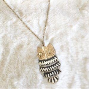 Jewelry - Autumn Owl Pendant Necklace